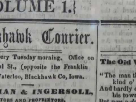 #NotToBrag -- WCF Courier began printing Jan. 18, 1859