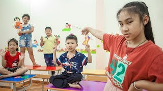 Kids Go To School | Chuns And Friend Learn The Alphabet Reward For Snacks