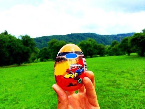 Киндер Сюрприз Тачки как Kinder Surprise Eggs Welly Cars Киндеры Kinder