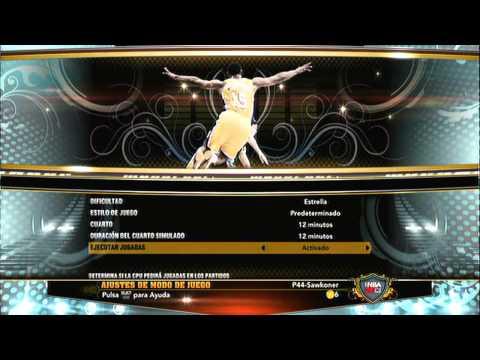 GUIA NBA 2K13 | PRIMER CAPITULO