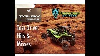 Honda Talon Test Drive - Hits & Misses