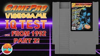 Take the GamePro Video Game IQ Test ... From 1992 (Part 2) - Defunct Games