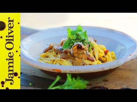 Porcini Mushroom Pasta | Gennaro Contaldo