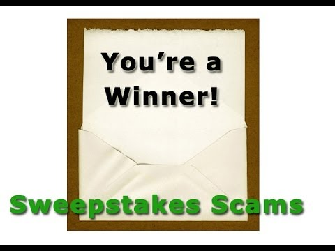 Lottery and sweepstakes scams elderly publishing
