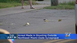 Police Arrest Accused NE Miami-Dade Synogogue Shooter