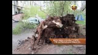 Ураган в Йошкар-Оле