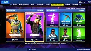 store FORTNITE of December 7, 2018! ITEM SHOP December 7 2018