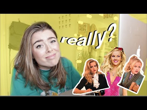 Law Student Reacts To LEGALLY BLONDE