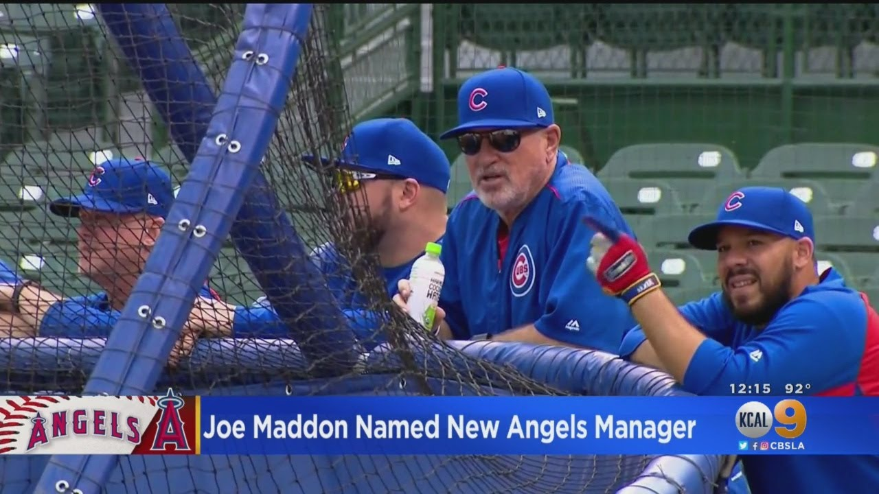 Angels hire Joe Maddon as next manager