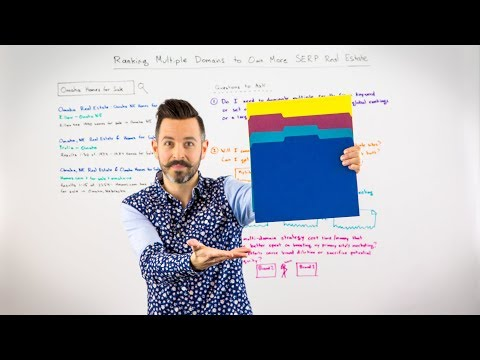 Ranking Multiple Domains to Own More SERP Real Estate - Whiteboard Friday