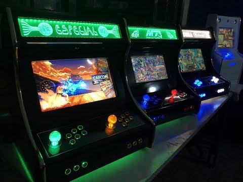 Custom Arcades and Bartops - Retrogaming