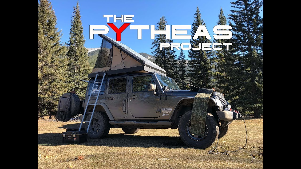 My Diy Hard Shell Roof Top Tent The Pytheas Project Youtube