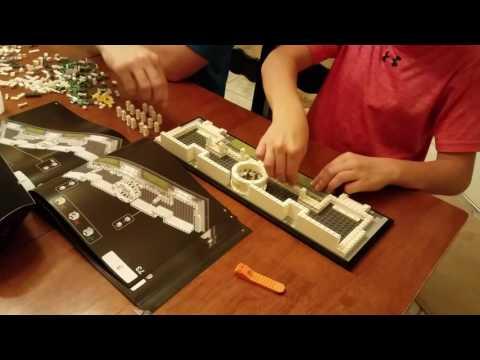 Lego Capitol Building Time-lapse
