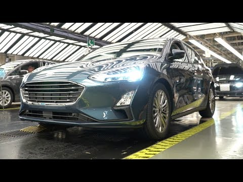2018 Ford Focus Mk4 Üretimi Saarlouis Almanya