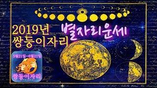 [별자리운세]2019년 쌍둥이 별자리 운세, 점성술.(꼭보세요!6월달은 좋고!..11월달에는 조심해야?)