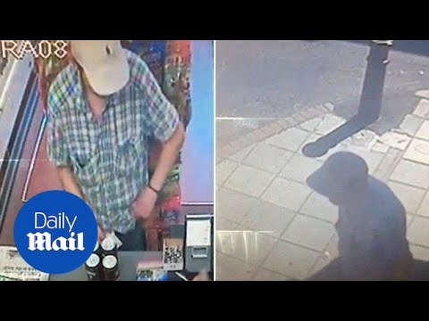 CCTV footage shows Charlie Rowley hours before his collapse - Daily Mail