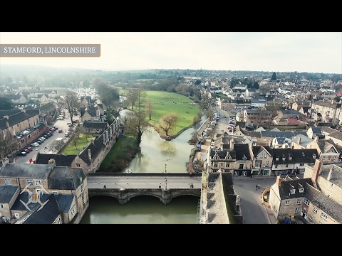 Stamford, Lincolnshire by Drone.