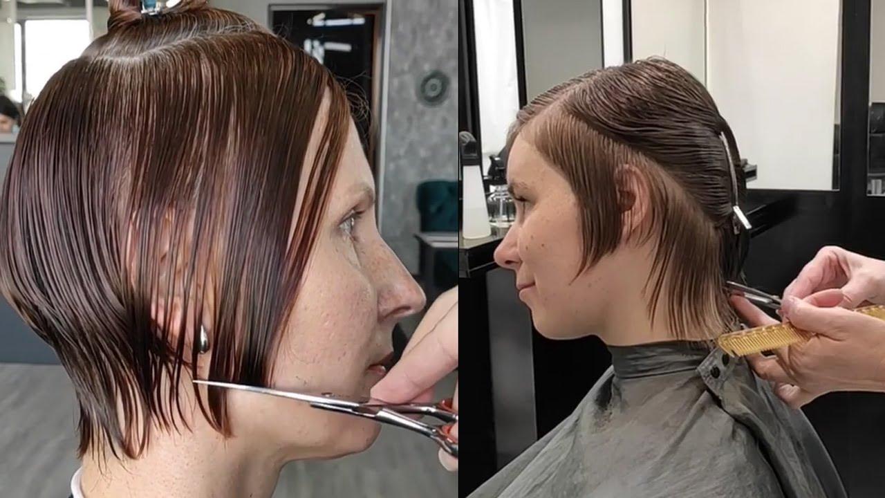 top short hairstyles for women | Trending Haircut 2020 | awesome hair transformation | haircut ideas
