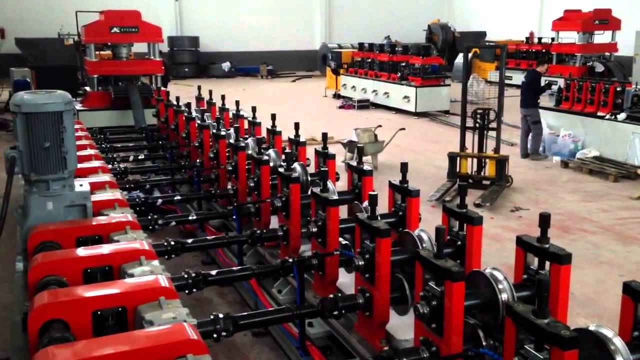 ROLLFORM ETCOMA ROLL FORMING LINES V15 SIGMA 100 PROFILE ROLL ...