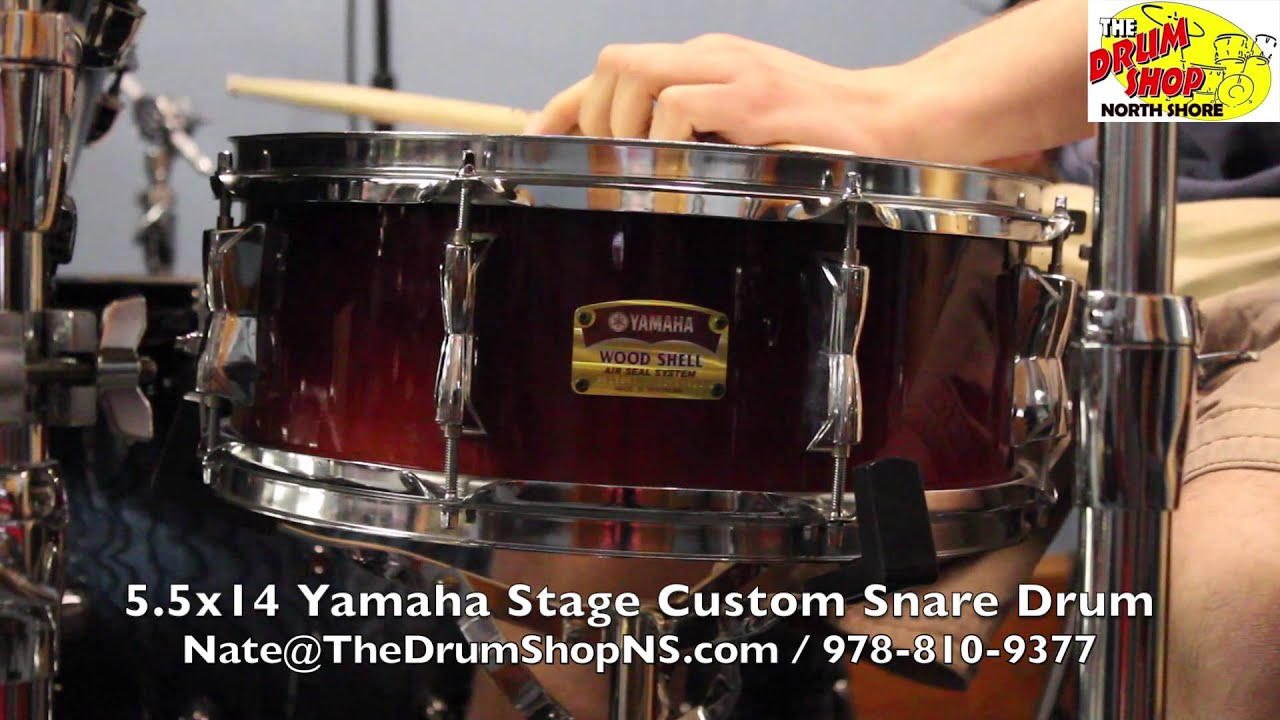 e3bcfc6a3072 Yamaha Stage Custom Snare Drum 5.5x14 - The Drum Shop North Shore ...