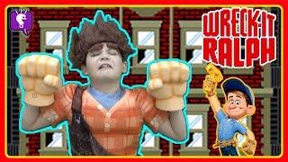 Wreck-It Ralph KIDS Go Into Fix-It Felix Jr. GAME! by HobbyK...