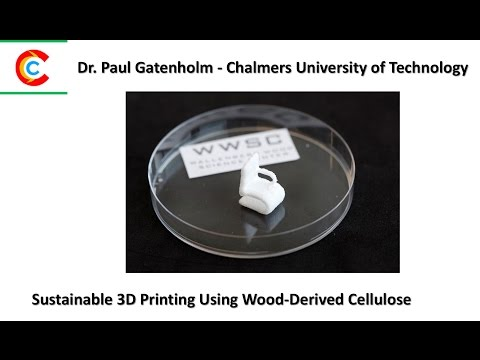 Sustainable 3D Printing Using Wood Derived Cellulose v2