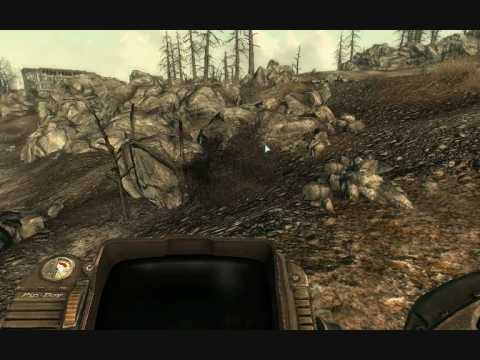 Fallout 3: Easter egg - Hidden Sniper Rifle - YouTube