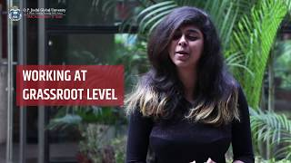 Titha Ghosh on her internsip with Child Rights and You(CRY)