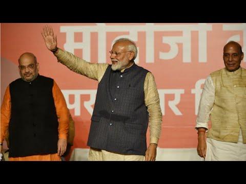 En Inde, les nationalistes hindous de Narendra Modi remportent les législatives