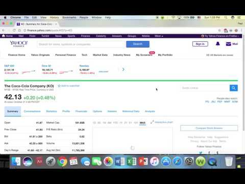 How to Use Yahoo Finance