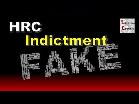 FAKE HRC Indictment