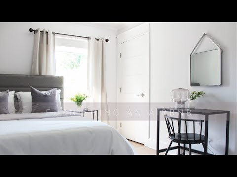 FURNISHING AN AIRBNB PART ONE
