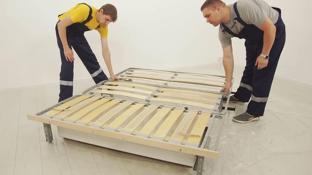 инструкция по сборке диван кровати аккордеон