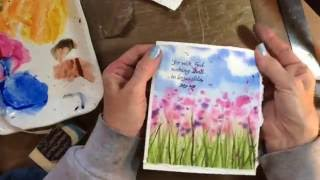 Make Your Own Beginner Watercolor Card