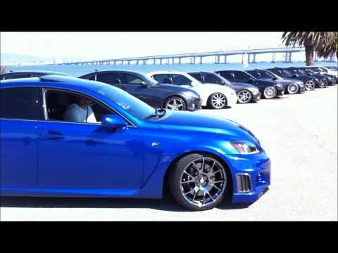2011 Ultrasonic Blue Lexus ISF