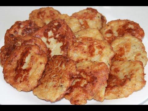 Ленивые беляши (пирожки) или оладьи с мясом