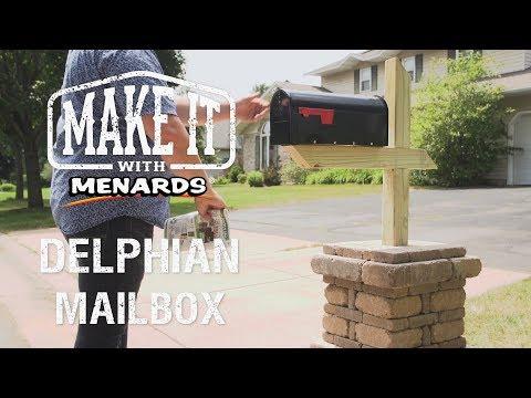 Delphian Mailbox No-Cut Block ...