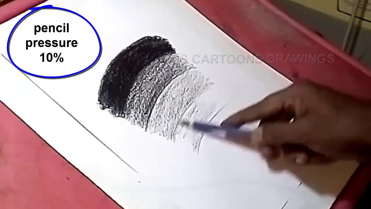How to create pencil shades in drawing for kids