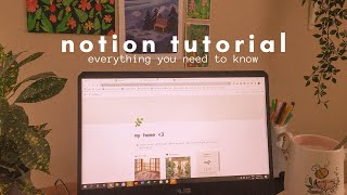 a full notion tutorial: the basics + how to make your setup aesthetic 💻✨