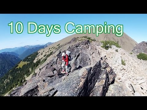 Backpacking Far Across Mountains (Olympic National Park)