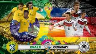 Brazil vs Germany 1-7 Highlights & goals - 2014 FIFA World Cup