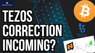 TEZOS CORRECTION INCOMING? - CRYPTO NEWS - bitcoin technical analysis