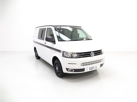 An Immaculate Newly Converted Volkswagen Transporter T28 Camper Van TDi 4 Berth - SOLD!