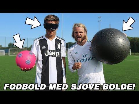 FODBOLD CHALLENGE MED PLASTIKBOLDE!