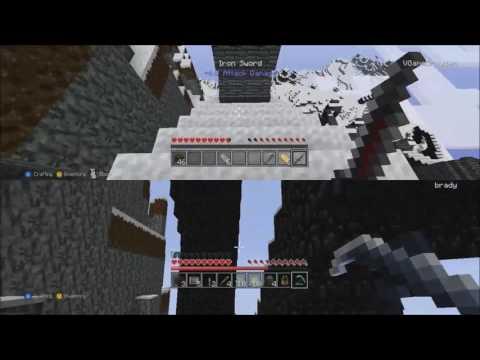 Video Game Brayden  Minecraft with Tucker