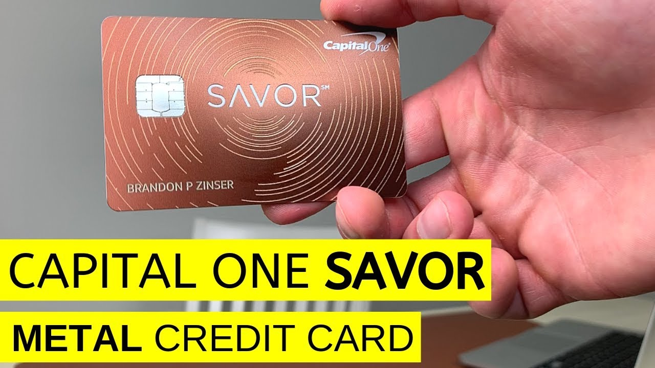 Capital One Savor Cash Back Metal Credit Card ($13 Sign Up Bonus)