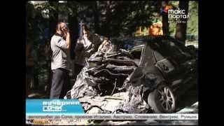 В Сочи в ДТП попали 10 машин