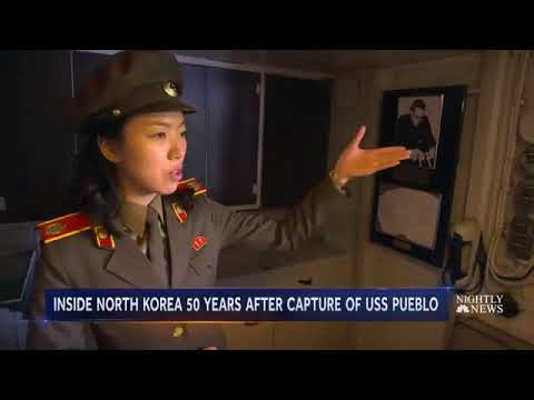 50 Years After North Korea Captured The USS Pueblo, The Ship Is Still On Display