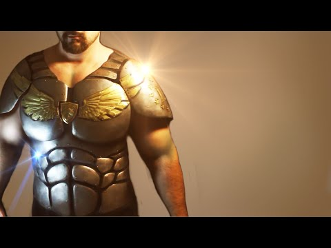 How to Make Armor with Ordinary Tools - Superhero Breastplate