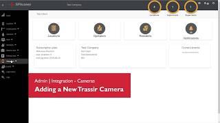 SPAccess - Admin - Integration - Cameras - Adding a New Trassir Camera